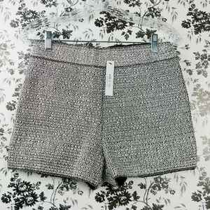 Ark & Co silver chain mail hot pants shorts M